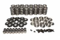 Camshafts and Valvetrain - Valve Spring and Retainer Kits - Comp Cams - COMP Cams Dual Valve Spring Kit - GM LS w/ Ti Retainers