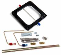 Air & Fuel System - Nitrous Oxide Systems (NOS) - NOS Cheater Injector Plate w/ Jets and Plumbing