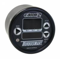 Turbocharger Parts & Components - Turbocharger Boost Controls - Turbosmart - Turbosmart eB2 Electronic Boost Control Gauge 60 psi - Black 60mm