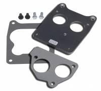 Fuel Injection System Components - Throttle Body Adapters, Carbureted Manifold - Trans-Dapt Performance - Trans-Dapt Carburetor To TBI Adapter - Quadrajet 4 bbl. To SB ChevyTBI Rear Mount
