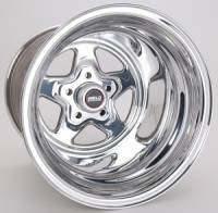 "Wheels - Street / Strip - Weld Racing Prostar Wheels - Weld Racing - Weld Pro Star Polished Wheel - 15 X 15"" - 5 x 4.5"" Bolt Circle - 4.5"" Bolt Circle -"" Back Spacing - 18.4 lbs"