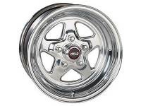 "Wheels - Street / Strip - Weld Racing Prostar Wheels - Weld Racing - Weld Pro Star Polished Wheel - 15 X 15"" - 5 X 4.75"" Bolt Circle - 6.5"" Back Spacing - 19 lbs"