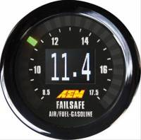 Gauges - Digital Air / Fuel Ratio Gauges - AEM Electronics - AEM Wideband Failsafe Gauge