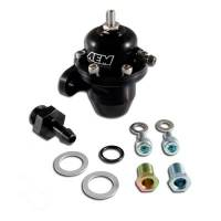 Air & Fuel System - AEM Electronics - AEM Adjustable Fuel Pressure Regulator Black