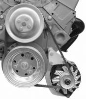 Alternator Parts & Accessories - Alternator Brackets - Alan Grove Components - Alan Grove Components Alternator Bracket - SB Chevy - Short Water Pump - LH - Low Mount / Narrow Frame
