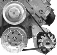 Alternator Parts & Accessories - Alternator Brackets - Alan Grove Components - Alan Grove Components Alternator Bracket - BB Chevy - Short Water Pump - LH - Low Mount