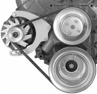 Ignition & Electrical System - Alan Grove Components - Alan Grove Components Alternator Bracket - BB Chevy - Long Water Pump - Mid-Mount - RH