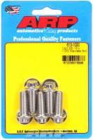 "Stainless Steel Bolts - 3/8""-16 Stainless Steel Bolts - ARP - ARP Stainless Steel Bolt Kit - 12 Point (5) 3/8-16 x 1.000"