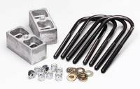 Leaf Springs Accessories - Lowering Blocks - Belltech - Belltech Block Kit Mini Truck 2""