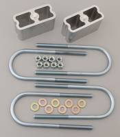 Leaf Springs Accessories - Lowering Blocks - Belltech - Belltech Block Kit Mini Truck 3""