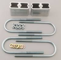 Leaf Springs Accessories - Lowering Blocks - Belltech - Belltech Block Kit for 1994 S10