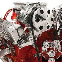 Ignition & Electrical System - Billet Specialties - Billet Specialties Independent Top Mount Compressor Bracket