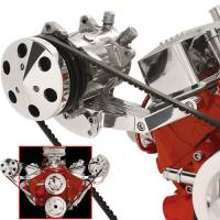 Ignition & Electrical System - Billet Specialties - Billet Specialties Independent Side Mount Compressor Bracket