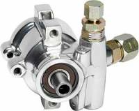 Power Steering Pumps - Aluminum Power Steering Pumps - Billet Specialties - Billet Specialties Polished Maval Power Steering Pump