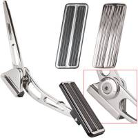 Pedals - Gas Pedals - Billet Specialties - Billet Specialties Polished Rectangle Gas Pedal