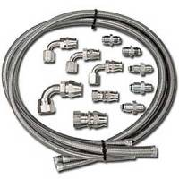 Power Steering Hose & Fittings - Power Steering Hose Kits - Billet Specialties - Billet Specialties Power Steering Hose Kit
