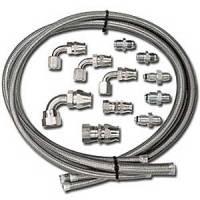 Power Steering Hose & Fittings - Power Steering Hose Kits - Billet Specialties - Billet Specialties Power Steering Hose Kit