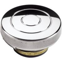 Cooling & Heating - Billet Specialties - Billet Specialties Polished Radiator Cap - Round - Circle Logo - 16 PSI