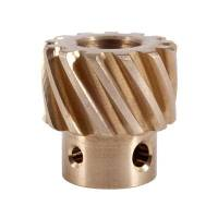 "Distributor Gears - Bronze Distributor Gears - Crane Cams - Crane Cams Distributor Gear Bronze .491"" GM 4Cylinder and 6Cylinder"