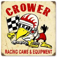 Crew Apparel - Signs - Crower - Crower Crower Racing Cams Sign