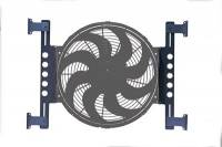 Fan Parts & Accessories - Electric Fan Mounting Kits - Derale Performance - Derale Billet Fan Bracket Set