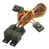 Fan Parts & Accessories - Electric Fan Wiring & Switches - Derale Performance - Derale 40/60 Amp Dual Relay w/ Wiring Harness