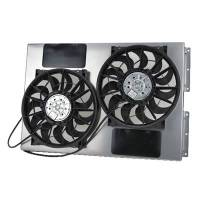 "Electric Fans - Derale Electric Fans - Derale Performance - Derale 13"" Dual High Output RAD Fans Puller"