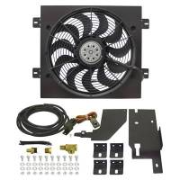 Jeep Wrangler YJ (87-95) - Jeep Wrangler YJ Heating and Cooling - Derale Performance - Derale 87-06 Wrangler Electric Fan Kit