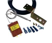 "Fan Parts & Accessories - Fan Switches - Derale Performance - Derale Adjustable Fan Controllr w/ "" Hose Probe"