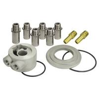 Oil Filter Adapters and Components - Oil Filter Adapters - Derale Performance - Derale Engine Sandwich Adapter Kit