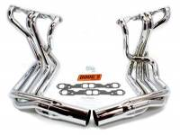 Sidemount Headers - SB Chevy Sidemount Headers - Doug's Headers - Doug's SB Chevy Side Mount Headers - Chrome - 63-82 Vette