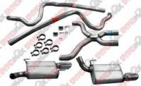 Exhaust Systems - Ford Mustang Exhaust Systems - DynoMax Performance Exhaust - DynoMax Stainless Steel Cat-Back Exhaust System - 2.5 in. Dual
