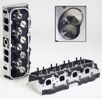 Aluminum Cylinder Heads - BB Chevy - Edelbrock Aluminum Heads - BBC - Edelbrock - Edelbrock BB Chevy Performer RPM 454-R Cylinder Head w/ Valves