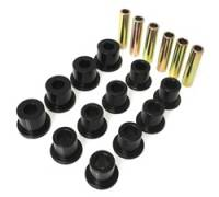 Jeep Wrangler YJ Suspension and Components - Jeep Wrangler YJ Bushings and Mounts - Energy Suspension - Energy Suspension Leaf Spring Bushing Set - Black