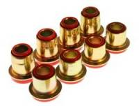 Chevrolet Corvette Suspension - Chevrolet Corvette Suspension Bushing - Energy Suspension - Energy Suspension Control Arm Bushing Set - Red