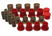 Chevrolet 2500/3500 Suspension - Chevrolet 2500/3500 Bushings and Mounts - Energy Suspension - Energy Suspension Control Arm Bushing Set - Red