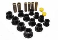 Leaf Springs Accessories - Leaf Spring Bushings - Energy Suspension - Energy Suspension Leaf Spring Bushing Set - Black
