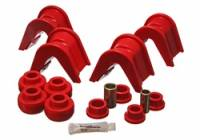 Bushings - Master Bushing Sets - Energy Suspension - Energy Suspension Bushing Kit - Red
