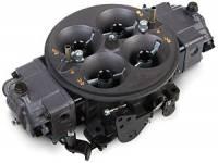 Carburetors - Drag Racing - 1050 CFM Gasoline Racing Carbs - Holley Performance Products - Holley Ultra Dominator Carburetor - 1050 CFM 4500 Series - Hard Core Gray™ w/ Black Metering Blocks & Base Plate