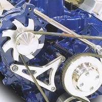 Ignition & Electrical System - March Performance - March Performance Ford 351 Alternator Bracket w/ Tensioner