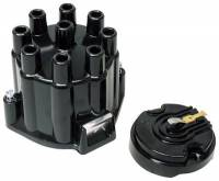 Distributors Parts & Accessories - Distributor Cap & Rotor Kits - MSD - MSD Cap/Rotor Kit - Street Fire - GM V8 Points Styl
