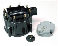 Distributors Parts & Accessories - Distributor Cap & Rotor Kits - MSD - MSD Cap/Rotor Kit - Street Fire - GM HEI V8