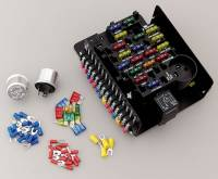 Electrical Wiring and Components - Fuse Blocks - Painless Performance Products - Painless Performance 18 Circuit Fuse Center