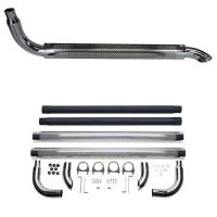 Exhaust System - Patriot Exhaust - Patriot Chrome Side Pipes - 80""