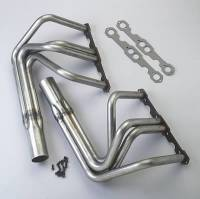 Sidemount Headers - SB Chevy Sidemount Headers - Patriot Exhaust - Patriot Headers - SB Chevy T-Bucket Sprint Car Style