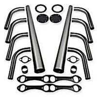 "Weld-Up Header Kits - Small Block Chevrolet Weld-Up Header Kit - Patriot Exhaust - Patriot SB Chevy Lakester Weld-Up Kit 1-5/8""- 3-1/2"""