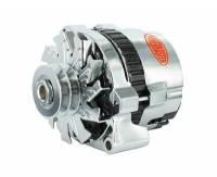 Alternator - Alternators - Powermaster Motorsports - Powermaster 140 Amp Alternator Chrysler w/ Spacer Chrome