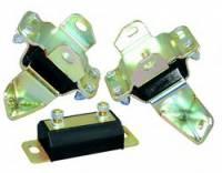 Drivetrain - Prothane Motion Control - Prothane Motor/Transmission Mount Combo - Black