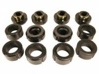 Prothane Motion Control - Prothane Body and Cab Mount Bushing Kit - Black - Image 1