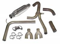 Chevrolet Camaro (4th Gen) Exhaust - Chevrolet Camaro (4th Gen) Exhaust Systems And Components - SLP Performance - SLP Performance Loud Mouth Exhaust Sys 98-02 LS1 GM F-Body